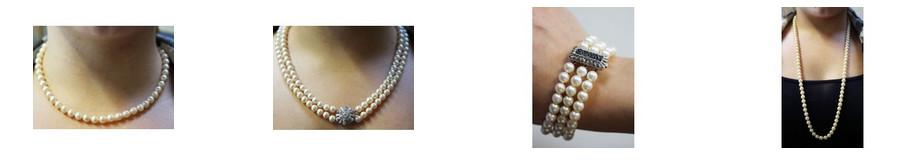 Perlen Perlenketten