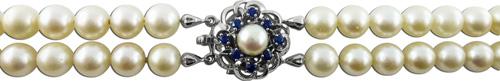 Perlenkette – Perlencollier große...