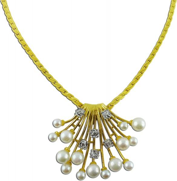 Perlenkette – edles Perlencollier ...
