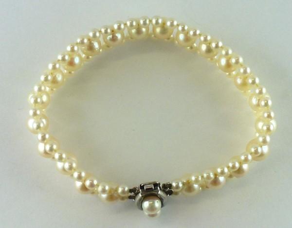 Armband Perlenarmband Süsswasserzuchtpe...