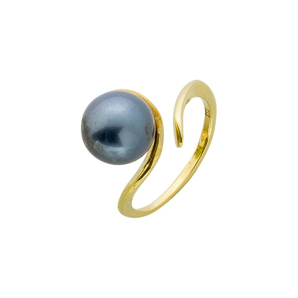 Perlenring – Goldring Gelbgold 333...
