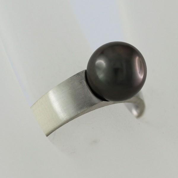 Perlenring – Silberring Sterling S...
