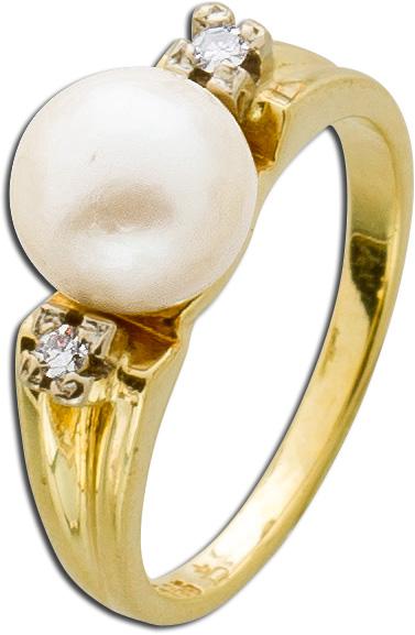 Ring – Goldring Antik Gelbgold 585...