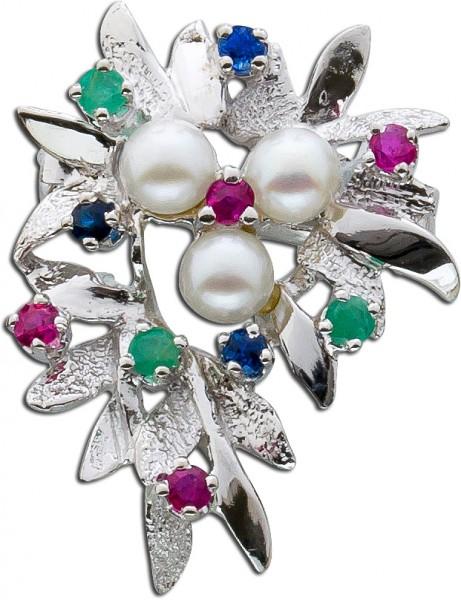 Einhängeclip – Perlenverschluss A...