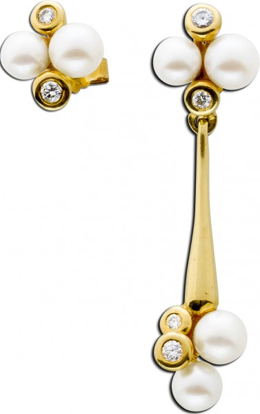 Ohrringe – Ohrhänger Gelbgold 585...