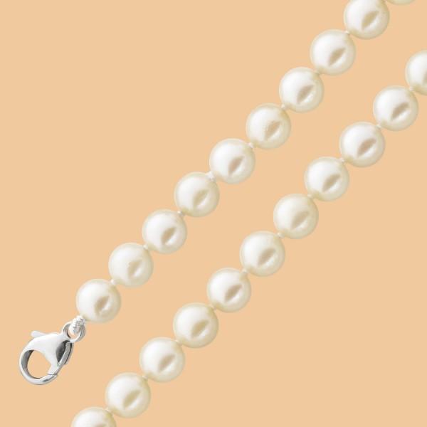 Perlenkette – Perlencollier Sterli...