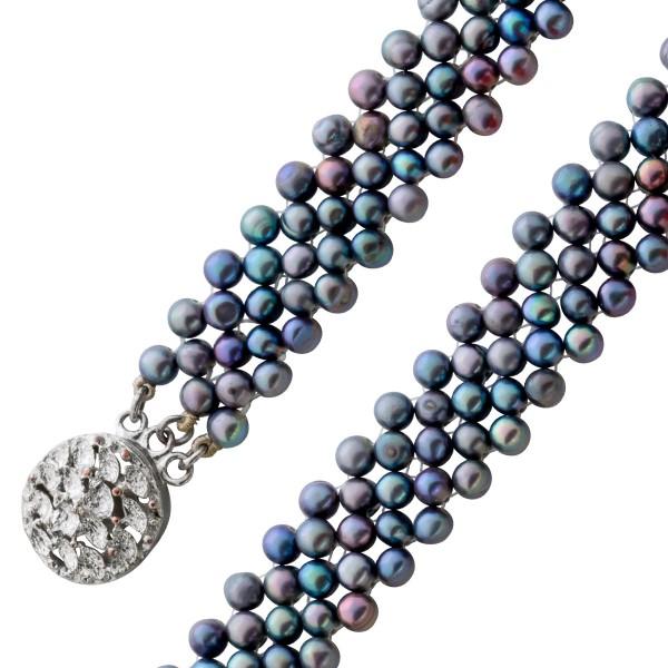 Perlenkette – Perlencollier chines...