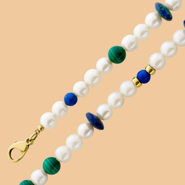Perlenkette – Perlencollier japani...