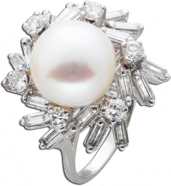 Brillantring Weißgold 585 Diamanten 1,5...