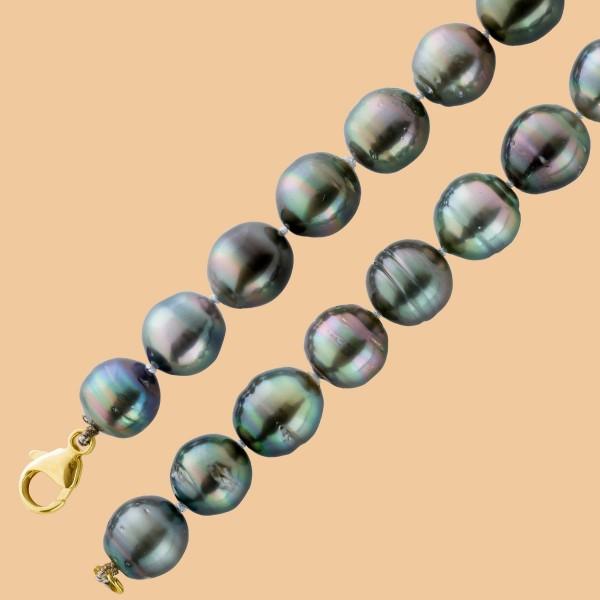 Perlenkette – Tahiti-Zuchtperlen-P...