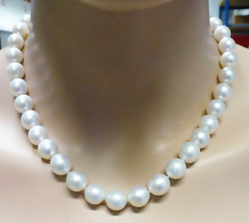 Perlenkette – Südsee-Zuchtperlen-...