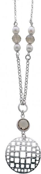 Perlenkette – Perlencollier aus ec...