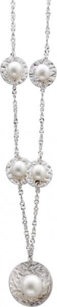 Perlenkette – Perlencollier 42cm l...