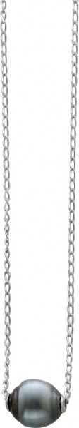 Collier 42 cm bzw. 47 cm lang in Silber ...