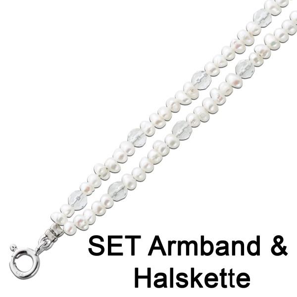 Perlenkette Perlenarmband Kette Armband ...