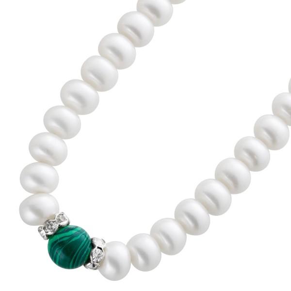 Perlenkette Süsswasserzuchtperlen 8,5mm...