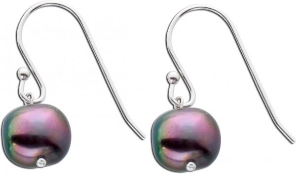 Ohrhänger Silber 925 Perlen Ohrringe gr...