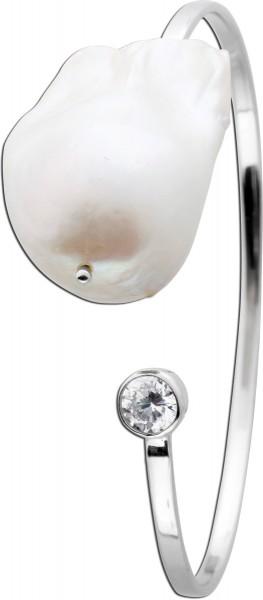 Perlen Armreif Silberarmreif Silber 925 ...
