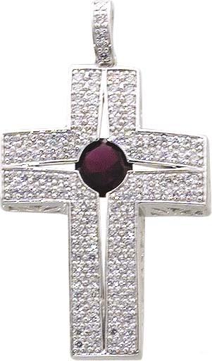 Anhänger Kreuz in echtem Silber Sterlin...
