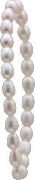 Perlenarmband Perlenband Armband weiße Süßwasserzuchtperlen dehnbar