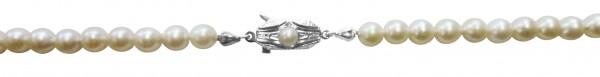 Perlenkette. Perlencollier 45 cm lang, V...
