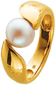 Ring in Gelbgold 585/- mit einer wunders...