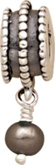 Zauberhafter PANDORA Charms Anhänger mit schwarzer Perle. Modellnummer: 79132BP Aus echtem Silber Sterlingsilber 925/-. Perlendurchmesser ca. 4,3mm. In Premiumqualität von Deutschlands größtem und günstigstem Schmuckverkäufer.  Der Preishit aus Stuttgart!